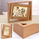 "Wooden 4"" x 6"" Single Picture Frame"