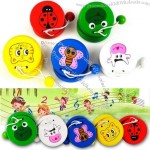 Wooden Cartoon Animal Castanets Multicolour Orff Percusses Child Puzzle Musical Toys 1 - 3 Years Old