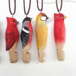 Wooden carving animal Whistle