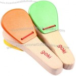 Wooden Castanet Baby Educational Toys
