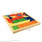Wooden Colorful Construction Block Set