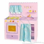 Wooden Doll House, Made of Bass Wood, Lead- and Nickel-free