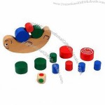 Wooden Education Building Blocks Toy with Different Shapes
