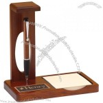 Wooden Floating Pen With Memo Pad