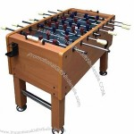 Wooden Football Game Tables, ABS Leg Levelers