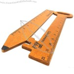 Wooden Geometry Template Ruler