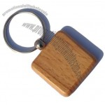 Wooden Key Chain Square Keychains