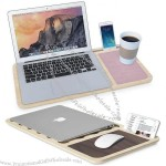 Wooden Macbook Mobile Laptop Desk