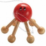 Wooden Mini Back Massager