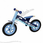 Wooden Outdoor Kid's Bicycles Toy