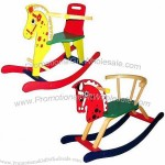 Wooden Rocking Horse, Safety Circle Available