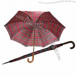 Wooden Shaft Golf Umbrella