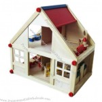 Wooden Toys Doll House