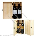 Wooden Two Wine Gift Boxes