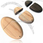 Wooden USB Flash Drive with Exquisite Artifice