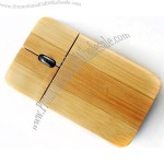 Wooden Wired Optical Mouse
