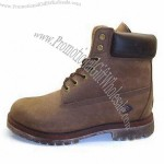 Working Boots with Full Grain Leather Upper and Rubber Outsole