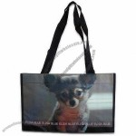Woven PP Shopping Bag with 120 x 4cm Handle