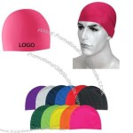 Wrinkle Free Silicone Swimming Cap