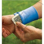 Wrist Wallet Sweatband For Working Out Travel Or At The Beach
