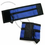 Wrist wallet with Velcro-Closure