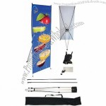 X Banner stand portable trade show display