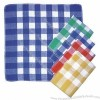 Yarn-dyed Dish Cloth, Made of Waffle Woven and Cotton