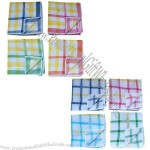 Yarn-dyed Dish Cloths, Made of Waffle Woven