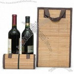 YaYa Bamboo Double Wine Bottle Gift Bag