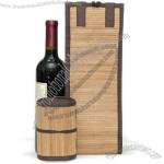 YaYa Bamboo Wine Bottle Gift Bag