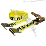 Yellow 2-in x 27-ft Ratcheting Tie Down