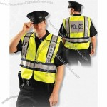 Yellow ANSI 207-2006 Police Safety Vest