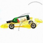 Yellow Car Shape Wine Bottle Holder