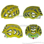 Yellow Cool in-Mold Bicycle Helmet