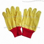 Yellow Fleece Gloves