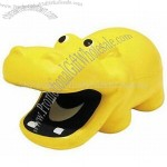 Yellow Hippo Stress Ball-Squeezies Stress Reliever
