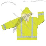 Yellow Reflective Rain Jacket
