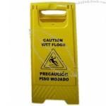 Yellow Sign Caution Board