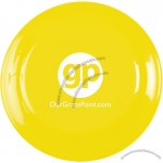 Yellow Solid Color Flyer Flying Disc