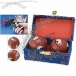 Yin Yang Chinese Health Exercise Iron Stress Balls