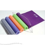 Yoga Mat is made of PVC.