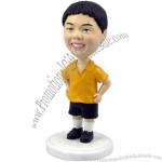 Young Boy In Shorts Bobblehead