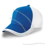 Youth - Color block athletic mesh cap.