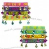 Zumba Fitness Lighten Up Rubber Bracelets with Bells